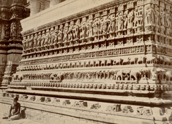 Plinth carvings of the Jagdish Temple, Udaipur. 19